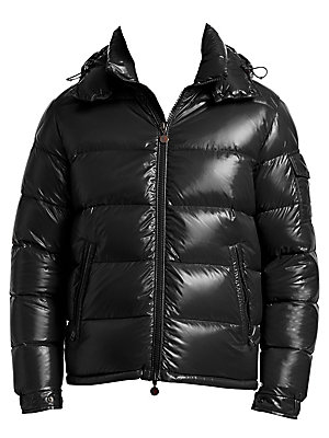 Moncler. Maya Hooded Puffer Jacket
