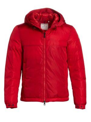 Montvernier Hooded Jacket in Red