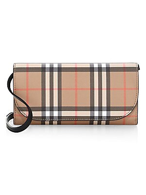 c57d6d99eb93 Burberry - Vintage Check Crossbody Bag - saks.com