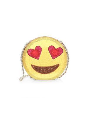 Judith Leiber Emoji Disc Clutch