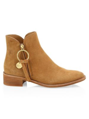 See By Chlo Louise Suede Flat Boots