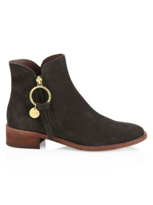 See By Chlo Louise Suede Ankle Boots