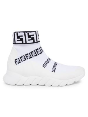 ff-sock-sneakers by fendi