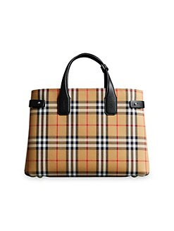 cb5bf51547be QUICK VIEW. Burberry. Medium Banner Tote