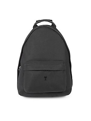 """Image of Accommodate your valuables in style with this rich wool backpack embellished with the brand logo. Top handle Adjustable shoulder straps Top zip-around closure Exterior zip pocket Wool Lined Imported SIZE Top handle drop, about 5.1"""" 12.2"""" W x 15.7"""" H. Men"""