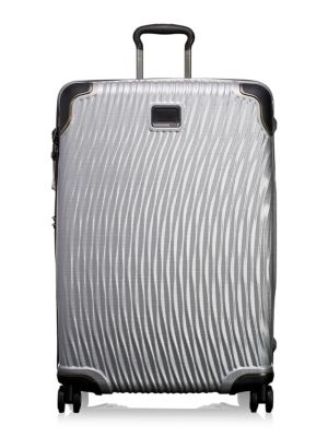 Latitude Extended Trip Packing Case Luggage in Silver