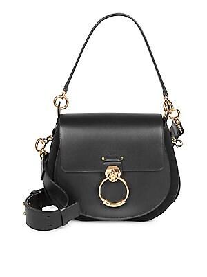 959c54eee235 Chloé - Medium Tess Leather Saddle Bag - saks.com