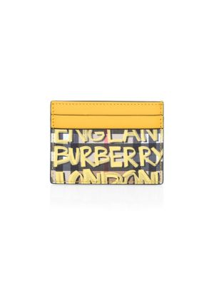 Vintage Graffiti Card Case by Burberry