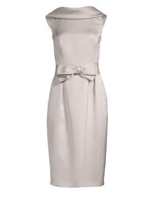 Dasinger Drape Neck Dress by Escada