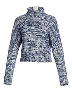 QUICK VIEW. Akris punto. Melange Turtleneck Chunky Sweater 52f18a8e85b0