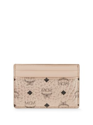 Logo Card Holder by Mcm