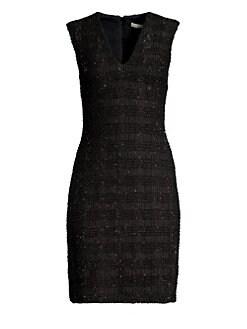 6ff25eda6cfb Alice + Olivia. Adelaide Metallic Sheath Dress