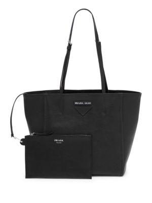 Concept Small Shopper Tote Bag in Black