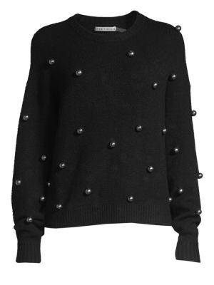 Gleeson Metal Ball Pullover by Alice + Olivia