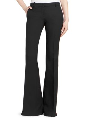 Side Stripe Bootcut Trousers by Alexander Mc Queen