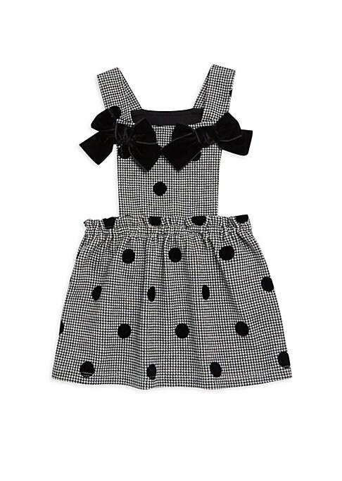 Baby Girls  Little Girls Polka Dot Bow Dress