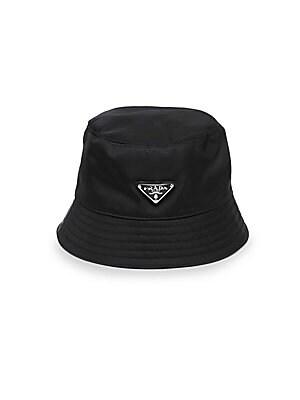 ac6d71e56b5 Prada - Tessuto Triangolo Bucket Hat
