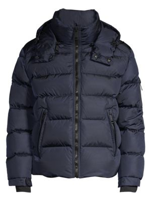 SAM Matte Glacier Puffer Jacket in Navy