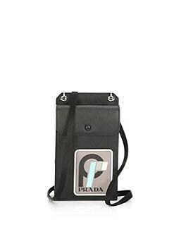 05dcf86df1343d Product image. QUICK VIEW. Prada. Saffiano Leather Crossbody Bag