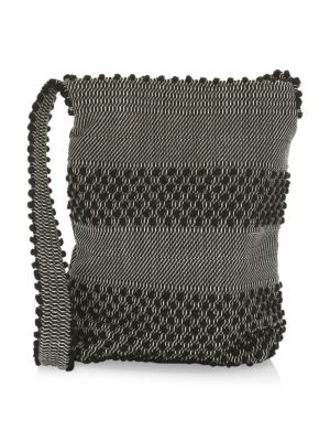 Inverni Bultei Woven Shoulder Bag