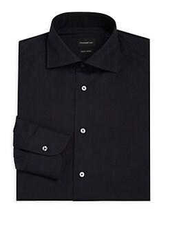Ermenegildo Zegna. Trofeo Comfort-Fit Solid Dress Shirt 13a00035b90