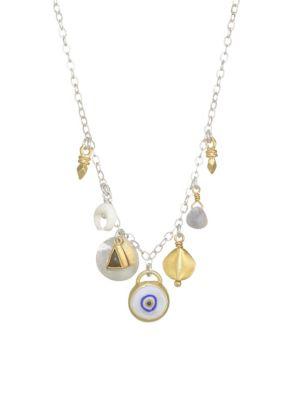 Chan Luu Evil Eye Charm Necklace