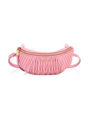 0ae5d20c68be Miu Miu Matelasse Belt Bag In Rosa