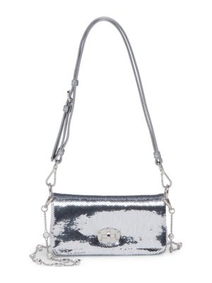 Sequin Chain Small Crossbody by Miu Miu