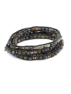 Chan Luu Labradorite Mix Wrap Bracelet