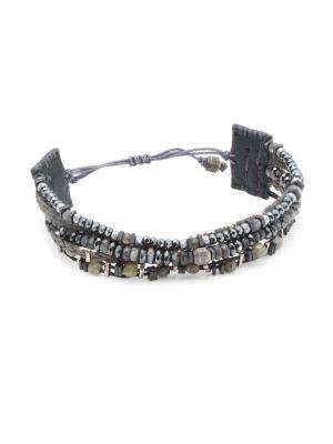 Chan Luu Labradorite Mix Pull Bracelet