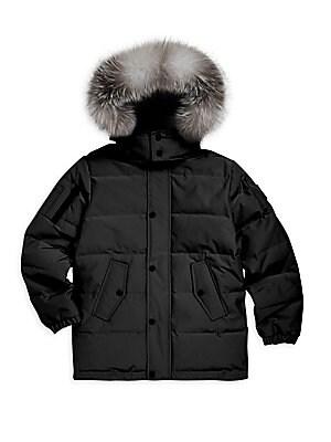 545c7341407 Burberry - Little Boy s   Boy s Briton Puffer Coat - saks.com