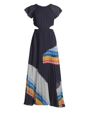 Keitha Accordion Pleat Maxi Dress by Joie
