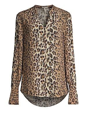 7e0f34d5594eb1 Joie - Tariana Leopard Print Blouse - saks.com