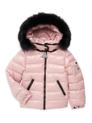 0011c9942 Moncler - Baby s K2 Fox Fur-Trimmed Jacket - saks.com