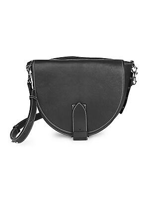 6af61fcca39e Chloé - Medium Marcie Leather Saddle Bag - saks.com