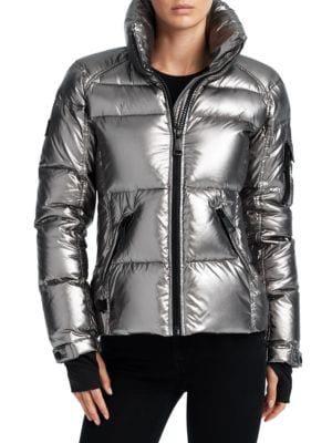 SAM Freestyle Down Jacket in Gunmetal