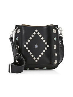 be07c31a48c7 Oskan Studded Tote Bag BLACK. Product image
