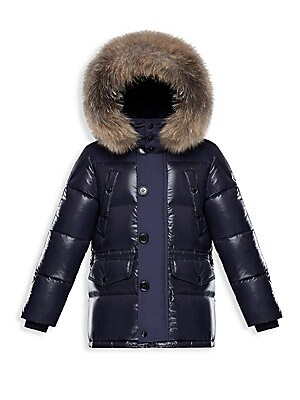 ea452c25105 Moncler - Little Boy s   Boy s Bayeux Jacket