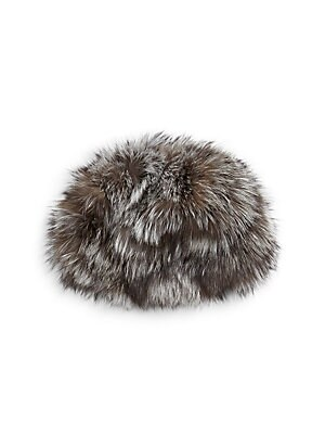 44ed4af0bd6 Adrienne Landau - Silver Fox Fur Hat - saks.com