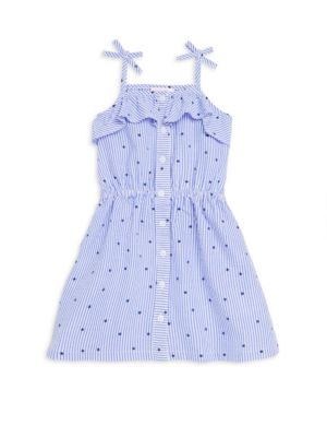 Little Girls Seersucker Tank Dress