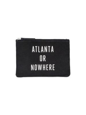 KNOWLITA Atlanta Zip Pouch in Black
