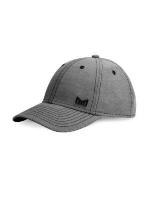MELIN Scholar Snapback Baseball Cap - Black