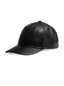 a18da01a7b0 Melin. The Voyage Leather Baseball Hat