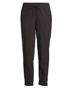 Training Stretch Drawstring Jogger Pants in Black