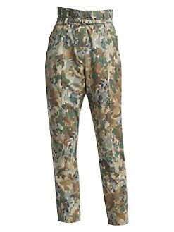 dfe937bc8e1 Product image. QUICK VIEW. Rachel Comey. Lure Camo Paperbag Pants.  380.00
