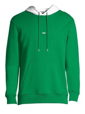 Opening Ceremony Tokyo Taxi Hoodie, Green White