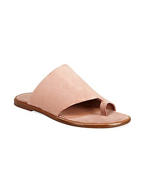 8b733f12087cfb Michael Kors Collection - Byrne Woven Leather Slides - saks.com