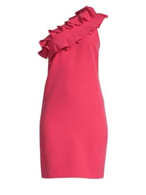Casa Mexico La Cruz Ruffle Sheath Dress by Trina Turk