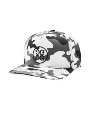 G/FORE Modern Camo Snapback in Snow