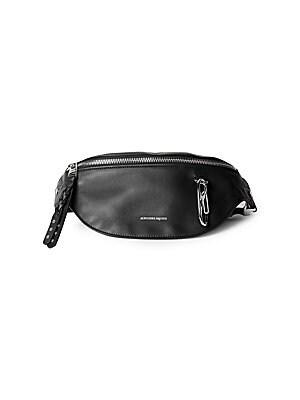 7b08e8f7ca229c Alexander McQueen - Harness Leather Fanny Pack